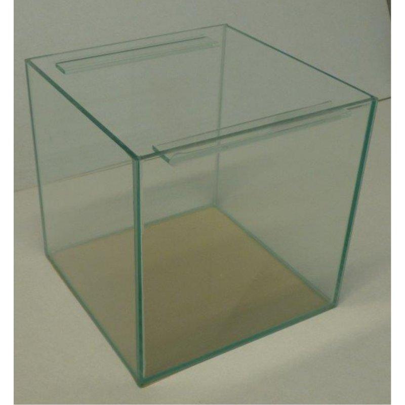 aquarium 60 x 60 x 60 cm 210 liter 10mm glas. Black Bedroom Furniture Sets. Home Design Ideas