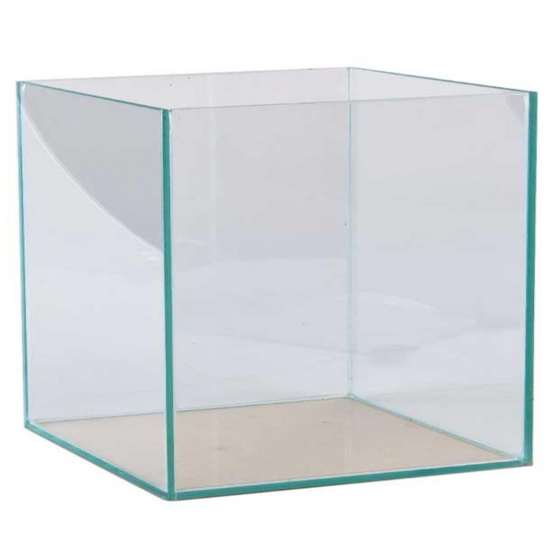 aquarium pool 30 x 30 x 30 cm 27 liter 4mm glas. Black Bedroom Furniture Sets. Home Design Ideas