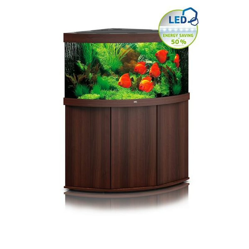 juwel trigon 350 led aquarium mit schrank dunkles holz 849 00. Black Bedroom Furniture Sets. Home Design Ideas