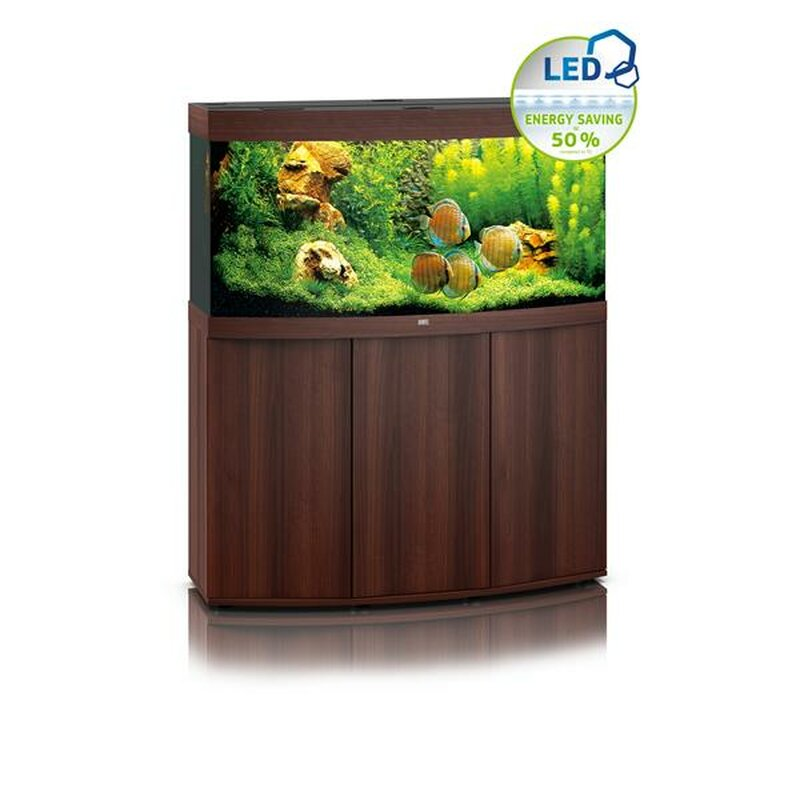 juwel vision 260 led aquarium mit schrank dunkles holz 549 00. Black Bedroom Furniture Sets. Home Design Ideas