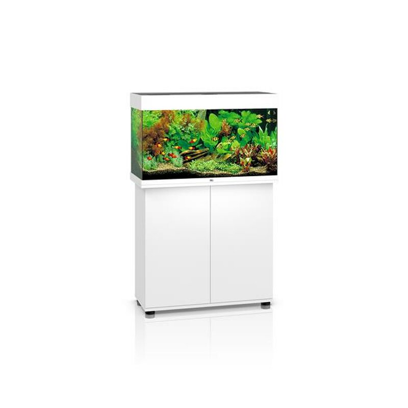 juwel rio 125 led aquarium mit schrank weiss 259 00. Black Bedroom Furniture Sets. Home Design Ideas