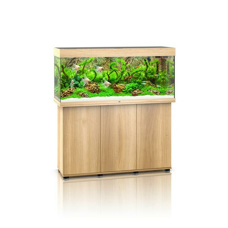 juwel rio 240 led aquarium mit schrank helles holz 399 00 f. Black Bedroom Furniture Sets. Home Design Ideas