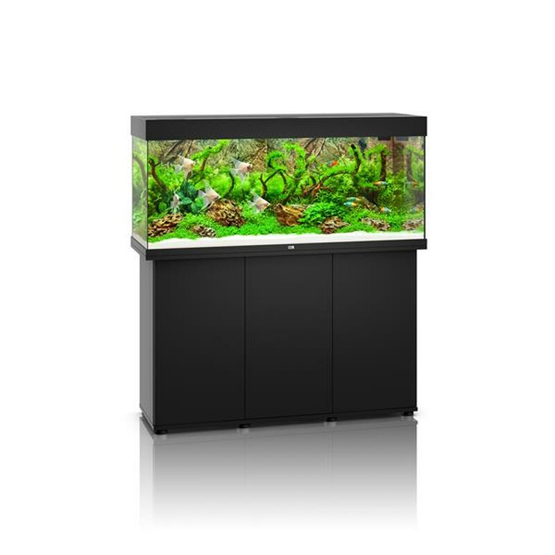 juwel rio 240 led aquarium mit schrank schwarz 399 00 favop. Black Bedroom Furniture Sets. Home Design Ideas