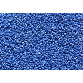 5 Kg Aquarien Zierkies 1-2 mm BLAU